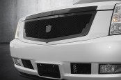 Tiarra® - Luxury Chrome Dual Weave Mesh Grille Kit, Custom Painted