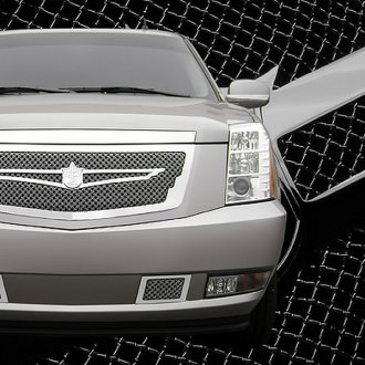 Tiarra® - 5-Pc Luxury Series Chrome Dual Weave Mesh Grille Kit