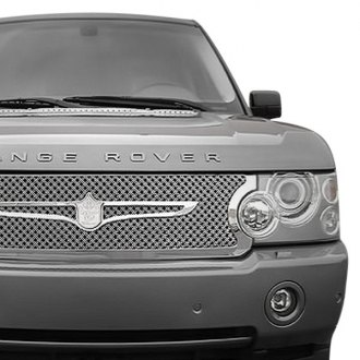 Tiarra® - 4-Pc Luxury Series Chrome Dual Weave Mesh Grille Kit