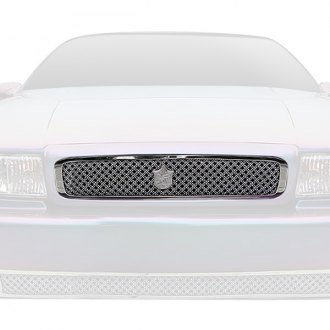 Tiarra® - 1-Pc Luxury Series Chrome Dual Weave Mesh Main Grille
