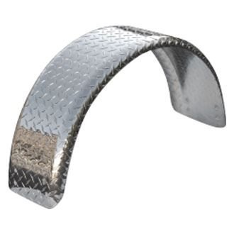 Tie Down Engineering® - Single Wheel Aluminum Tread Brite Fender