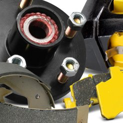 Tie Down Engineering® - Drum Brake Replacement Shoe Lining Kit