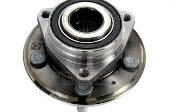 Timken® HA590260 - Rear Wheel Bearing and Hub Assembly