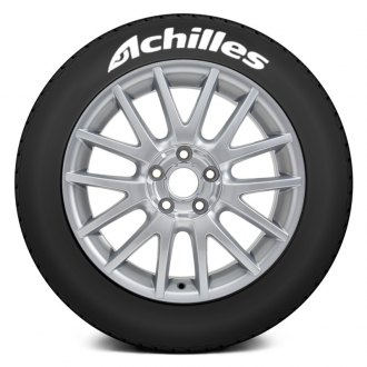 "Tire Stickers® - ""Achilles"" Tire Lettering Kit"