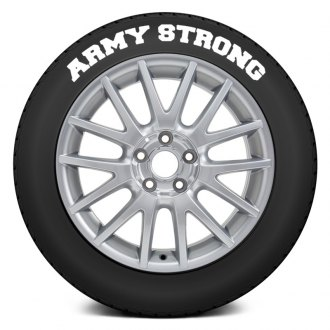 "Tire Stickers® - ""Army Strong"" Tire Lettering Kit"