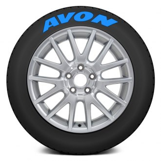 "Tire Stickers® - ""Avon"" Tire Lettering Kit"