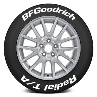 "Tire Stickers® - ""BF Goodrich Radial T/A"" Tire Lettering Kit"