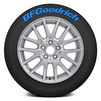 "Tire Stickers® - ""BF Goodrich"" Tire Lettering Kit"