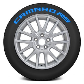 "Tire Stickers® - ""Camaro RS"" Tire Lettering Kit"