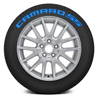 "Tire Stickers® - ""Camaro SS"" Tire Lettering Kit"