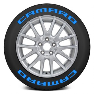 "Tire Stickers® - ""Camaro"" Tire Lettering Kit"