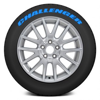 "Tire Stickers® - ""Challenger"" Tire Lettering Kit"