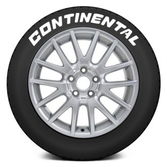 "Tire Stickers® - ""Continental"" Tire Lettering Kit"