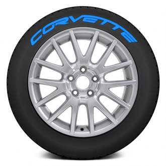 "Tire Stickers® - ""Corvette"" Tire Lettering Kit"