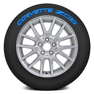 "Tire Stickers® - ""Corvette Z06"" Tire Lettering Kit"