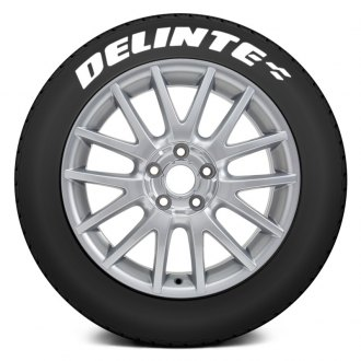 "Tire Stickers® - ""Delinte"" Tire Lettering Kit"