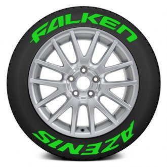 "Tire Stickers® - ""Falken Azenis"" Tire Lettering Kit"
