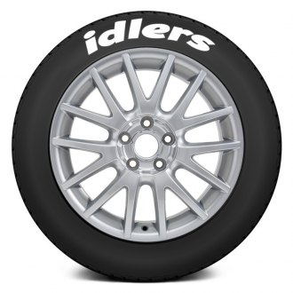 "Tire Stickers® - ""Idlers"" Tire Lettering Kit"