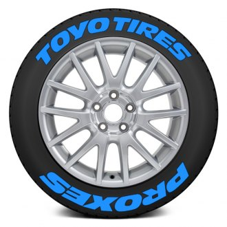 "Tire Stickers® - ""Toyo Tires Proxes"" Tire Lettering Kit"