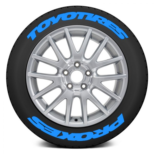 Toyo Tires White Letters >> Tire Stickers Toyo Tires Proxes Super Stretched Design Tire Lettering Kit