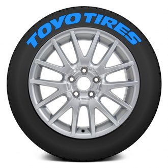 "Tire Stickers® - ""Toyo Tires"" Tire Lettering Kit"