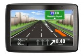"TomTom® - VIA 1435 M 4.3"" Touch Screen Vehicle GPS Navigator"