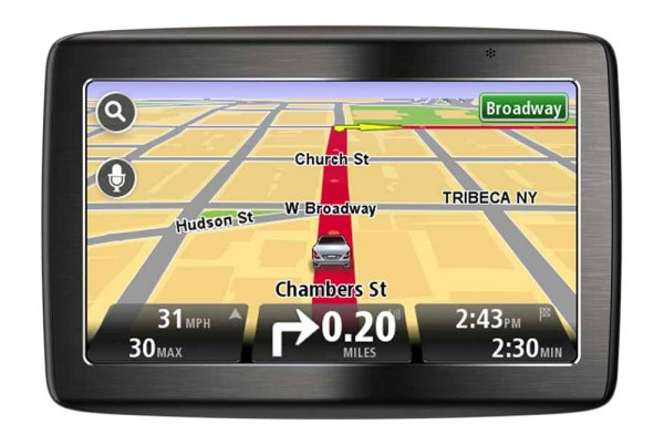 "TomTom® - VIA 1435 M 4.3"" Touchscreen Vehicle GPS Navigator"
