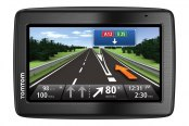"TomTom® - VIA 1435T 4.3"" Touch Screen Vehicle GPS Navigator with Lifetime Traffic Update"
