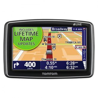 "TomTom® - 4.3"" GPS Navigator with Live Lifetime Maps"