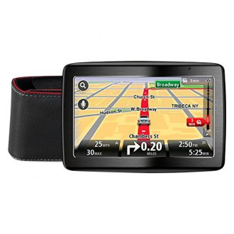 "TomTom® - 5.0"" GPS Navigator with Carrying Case"