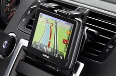 TomTom® - Vehicle GPS Navigator in a Air Vents Mount