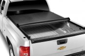 TonnoPro® - LoRoll Tonneau Cover, Mid Opened