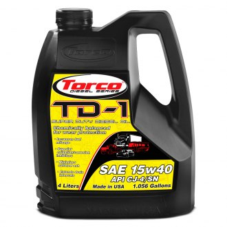 Torco® - SAE 15W-40 TD-1 Super Diesel Motor Oil 1.05 Gallon