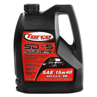 Torco® - SD-5 Super Heavy Duty Synthetic Diesel Motor Oil