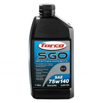 Torco® - SAE 75W-140 SAE Grade SGO Synthetic Racing Gear Oil, 1.05 Quart