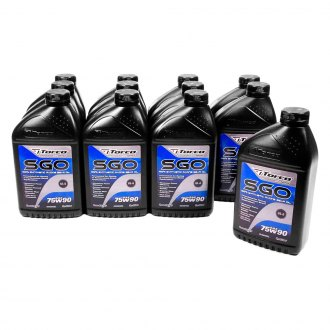 Torco® - SAE 75W-90 SAE Grade SGO Synthetic Racing Gear Oil, 12 Bottles, 1.05 Quart