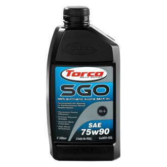 Torco® - SAE 75W-90 SAE Grade SGO Synthetic Racing Gear Oil, 1.05 Quart