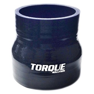 Torque Solution® - Transition Silicone Black Coupler