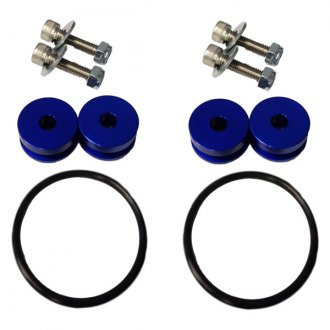 Torque Solution® - Blue Billet Bumper Quick Release Kit