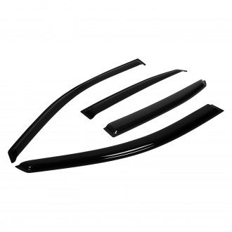 Vent Deflector 4 pcs- 415060LP Dark Smoke CLIM ART Rain Guards for Lexus NX 2015-2020 Original Tape-on Window Deflectors Vent Window Visors for Cars Car Accessories