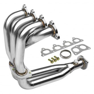 Torxe™ - 4-2-1 304 SS Polished Mid-Length Tube Exhaust Header