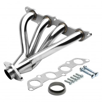 Torxe™ - Racing 4-1 304 SS Polished Short Tube Exhaust Header