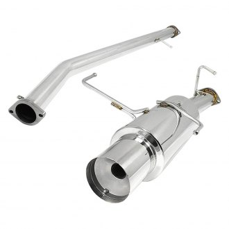 Torxe™ - Stainless Steel Cat-Back Exhaust System with Single Rear Exit