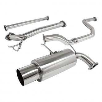 Torxe® - Stainless Steel Cat-Back Exhaust System with Single Rear Exit
