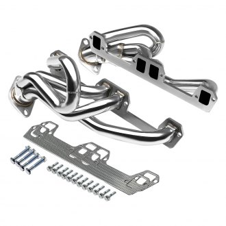 Torxe™ - 304 SS Polished Mid-Length Tube Exhaust Headers