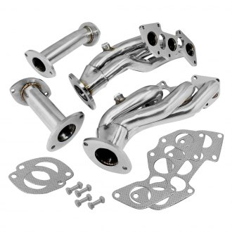 Torxe® - 304 SS Polished Short Tube Exhaust Headers