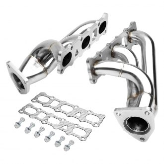 Torxe™ - Stainless Steel Polished Short Tube Exhaust Headers