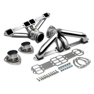 Torxe™ - Racing 4-1 304 SS Polished Short Tube Exhaust Headers