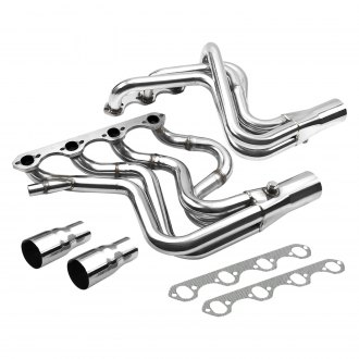Torxe™ - Racing 304 SS Polished Long Tube Exhaust Headers