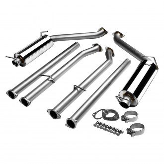 Torxe™ - Stainless Steel Cat-Back Exhaust System with Split Rear Exit